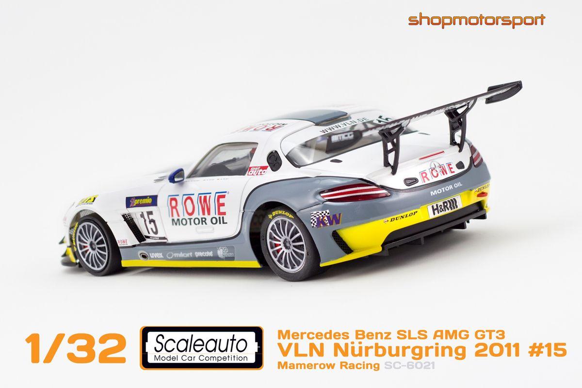 MERCEDES BENZ SLS AMG GT3 / SCALEAUTO 6021 / DOMINIK SCHWAGER-HUBERT HAUPT-KLAUS RADER