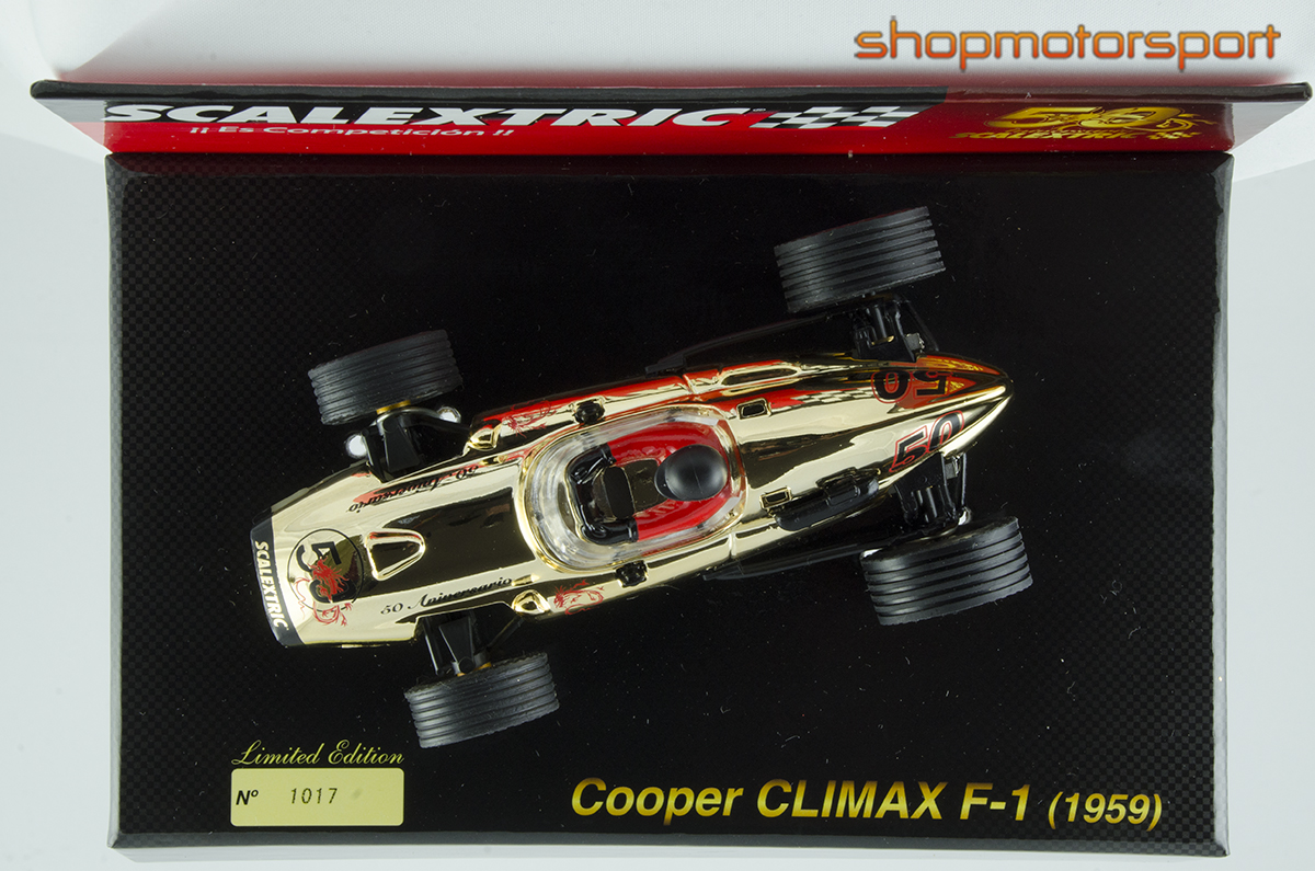 COOPER CLIMAX F1 / SCALEXTRIC A10107S300