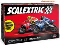 SLOT SET SCALEXTRIC A10055S500 C2 MOTO GP / YAMAHA MOTO GP-DUCATI MOTO GP // OUT OF STOCK