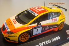 SEAT LEON TDI WTCC 2009 / YVAN MULLER // OUT OF STOCK