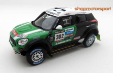 MINI COUNTRYMAN ALL4 RACING / TSM MODEL 144342 / STEPHANE PETERHANSEL-JEAN-PAUL COTTRET