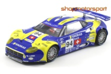 SPYKER C8 LAVIOLETTE GT2R RACING / SCALEAUTO 6051R / ANDREA CHIESA-IRADJ ALEXANDER-BENJAMIN LEUENBERGER