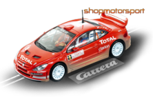PEUGEOT 307 WRC / CARRERA 25732 / FREDDY LOIX-SVEN SMEETS // OUT OF STOCK