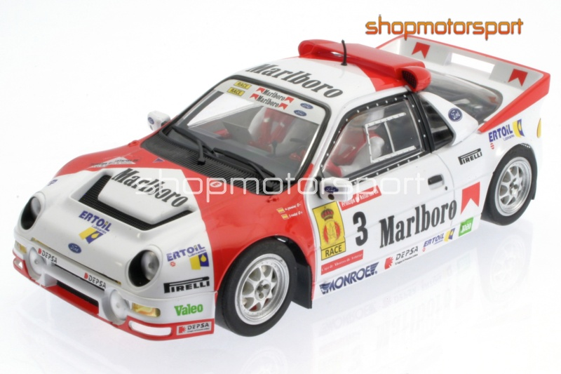 FORD RS200 Gr.B / SCALEAUTO 6155 / ANTONIO ZANINI-JOSEP AUTET // OUT OF STOCK