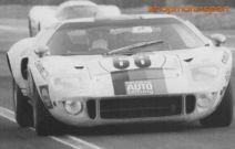 FORD GT40 / NSR D0041 / REINHOLD JOST-HELMUT KELLENERS