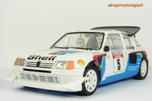 PEUGEOT 205 T16 EVO2 Gr.B / OSC B02002 / BRUNO SABY-JEAN FRANÇOIS FAUCHILLE // OUT OF STOCK