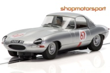 JAGUAR E TYPE / SCALEXTRIC SUPERSLOT 3952 / PETER LINDNER-PETER NOCKER