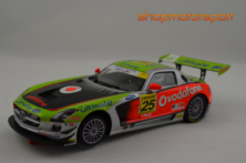 MERCEDES BENZ SLS AMG GT3 / SCALEAUTO 6022R / JOSE PEDRO FONTES-MIGUEL BARBOSA