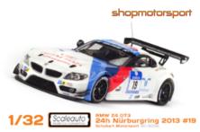 BMW Z4 GT3 / SCALEAUTO 6032 / JORG MÜLLER-DIRK MÜLLER-UWE ALZEN-AUGUSTO FARFUS