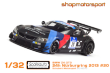 BMW Z4 GT3 / SCALEAUTO 6070 / MARTIN TOMCZYK-DIRK ADORF-CLAUDIA HÜRTGEN-JENS KLINGMANN