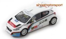 PEUGEOT 208 T16 / SCALEAUTO 6181R / KRIS MEEKE-CHRIS PATTERSON - 4x4 REAR TRACTION / 4WD