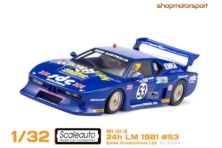 BMW M1 Gr.5 / SCALEAUTO 6024 / EDDIE JORDAN-DAVID HOBBS-STEVE O'ROURKE // OUT OF STOCK