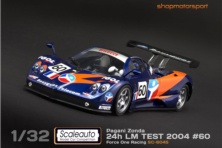 PAGANI ZONDA / SCALEAUTO 6045 / BRUNO BESSON-DAVID HALLYDAY-ANTHONY KUMPEN // OUT OF STOCK