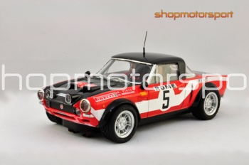 FIAT 124 ABARTH SPIDER Gr.4 / SCX 64860 / RAFFAELE PINTO-ARNALDO BERNACCHINI // OUT OF STOCK
