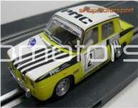 RENAULT 8 TS / SCALEXTRIC A10069S300 / IGNACIO RUEDA-JOSE MANUEL EZQUERRO // OUT OF STOCK