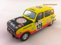 RENAULT 4 / SCALEXTRIC A10160S300 / CLAUDE MARREAU-BERNARD MARREAU