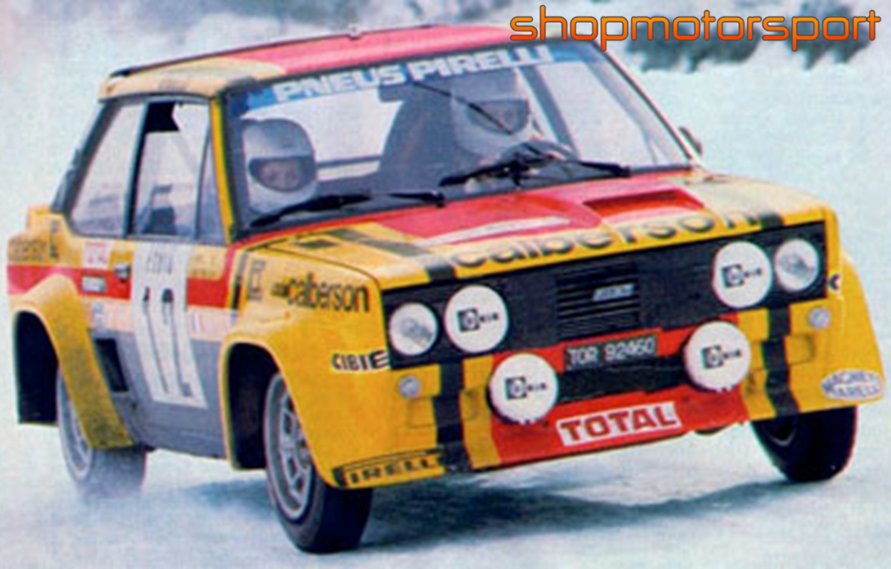 Fiat 131 Abarth Gr 4 Scalextric A10194s300 Michele
