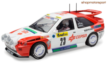 FORD ESCORT RS COSWORTH / SCALEXTRIC A10196S300 / JESUS PURAS-ALEX ROMANI // OUT OF STOCK
