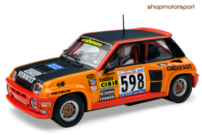 RENAULT 5 TURBO / SCALEXTRIC A10198S300 / GUY FREQUELIN-JEAN-MARC ANDRIE