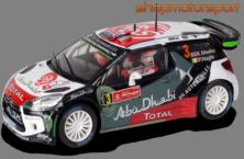CITROEN DS3 WRC / SCALEXTRIC A10217S300 / KRIS MEEKE-PAUL NAGLE