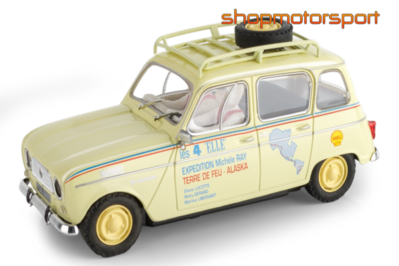 renault 4l scalextric a10221s300 michele ray. Black Bedroom Furniture Sets. Home Design Ideas