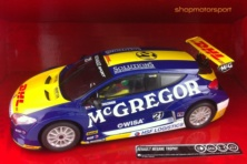 RENAULT MEGANE TROPHY / SCALEXTRIC A10168S300 / MIKE VERSCHUUR