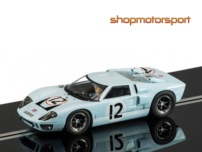 FORD GT 40 / SCALEXTRIC SUPERSLOT 3533 / INNES IRELAND-JOCHEN RIND