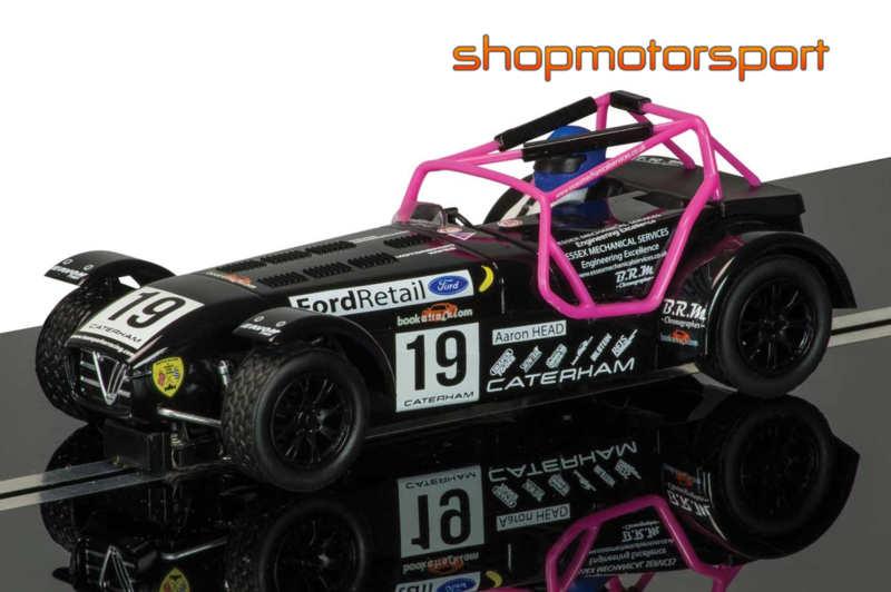 Caterham Superlight Scalextric Superslot 3647 Aaron Head