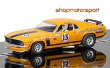 FORD MUSTANG BOSS 302 / SCALEXTRIC SUPERSLOT 3651 / PARNELLI JONES