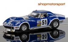 CHEVROLET CORVETTE STINGRAY L88 / SCALEXTRIC SUPERSLOT 3654 / HENRI GREDER-MARIE-CLAUDE CHARMASSON