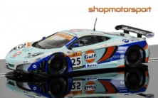 McLAREN MP4 12C GT3 / SCALEXTRIC SUPERSLOT 3716 / RICHARD MEINS