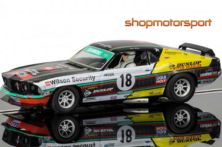FORD MUSTANG BOSS 302 / SCALEXTRIC SUPERSLOT 3728 / JOHN BOWE
