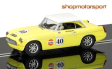 MGB / SCALEXTRIC SUPERSLOT 3746 / ROY McCARTHY