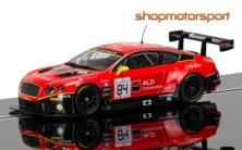 BENTLEY CONTINENTAL GT3 / SCALEXTRIC SUPERSLOT 3845 / HAROLD PRIMAT-VINCENT ABRIL-MIKE PARISY