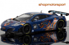 McLAREN MP4 12C GT3 / SCALEXTRIC SUPERSLOT 3850 / BRUNO SENNA-ROB BARFF-CHRIS GOODWIN