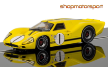 FORD GT40 MK IV / SCALEXTRIC SUPERSLOT 3859 / BRUCE McLAREN-MARIO ANDRETTI