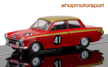 FORD LOTUS CORTINA / SCALEXTRIC SUPERSLOT 3870 / JOHN WHITMORE