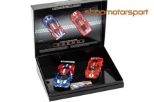 FORD MKIV / FORD GT GTE / SCALEXTRIC SUPERSLOT 3893A / DAN GURNEY-AJ FOYT / HARRY TINCKNELL-ANDY PRIAULX-PIPO DERANI