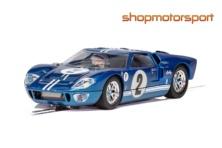 FORD GT40 MKII / SCALEXTRIC SUPERSLOT 3916 / A.J. FOYT Jr-LLOYD RUBY