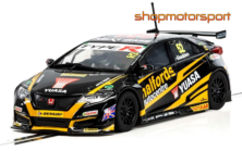 HONDA CIVIC TYPE R / SCALEXTRIC SUPERSLOT 3919 / GORDON SHEDDEN
