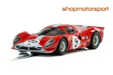 FERRARI 412P / SCALEXTRIC SUPERSLOT 3946 / PETER BROCK-JIM RICHARDS