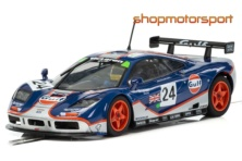 McLAREN F1 GTR / SCALEXTRIC SUPERSLOT 3969 / MARK BLUNDELL-RAY BELLM-MAURIZIO SANDRO SALA
