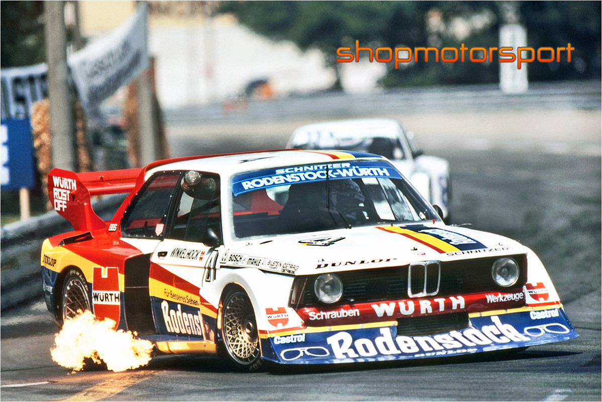 Bmw 320 Turbo Gr 5 Sideways Sw0043 Manfred Winkelhock