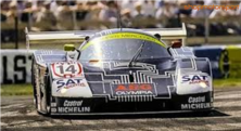 SAUBER MERCEDES C9 Gr.C / SLOT IT CA06G / JEAN-LOUIS SCHLESSER
