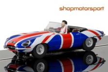 JAGUAR E-TYPE / SCALEXTRIC SUPERSLOT 3878