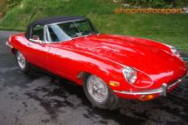 JAGUAR E-TYPE / SCALEXTRIC SUPERSLOT 4032 / STREET CAR RED