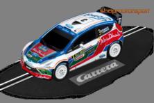 FORD FIESTA RS WRC / CARRERA GO 61214 / MIKKO HIRVONEN-JARMO LETHINEN