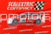 PACK SCALEXTRIC COMPACT 3709 / SEAT LEON WTCC JORDI GENE + SEAT LEON SUPERCOPA OSCAR NOGUES