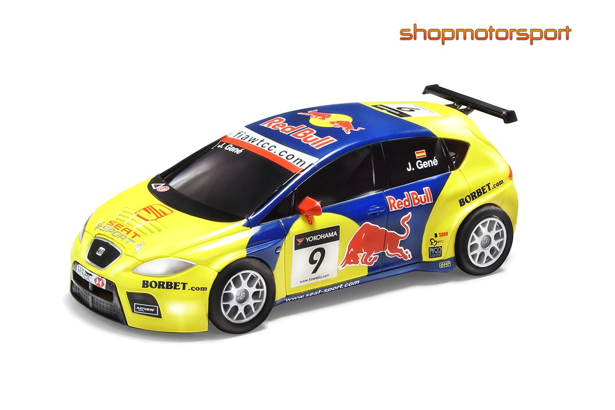 seat leon tfsi wtcc scalextric compact c10176x300 jordi gene. Black Bedroom Furniture Sets. Home Design Ideas