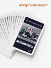 DECK OF CARDS MERCEDES-BENZ // OUT OF STOCK